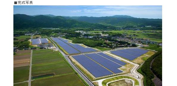 佐賀県の「吉野ヶ里メガソーラー」完成 停電時対応設備・EV充電器も設置