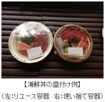 東京都、スーパーのお寿司などでリユース容器の使用実験 ゴミ削減の効果測定