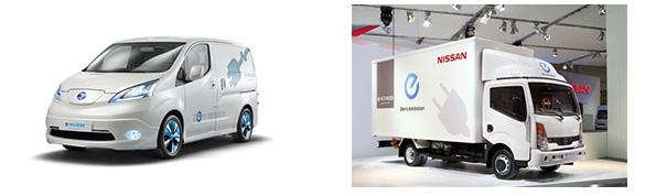 日産、EV技術を商用車へ 電気商用車は2014年発売予定、電気トラックも開発中