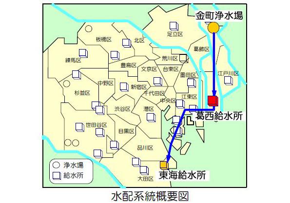 東京都、江戸川区の給水所で小水力発電 年間約140万kWh×33.18円で売電