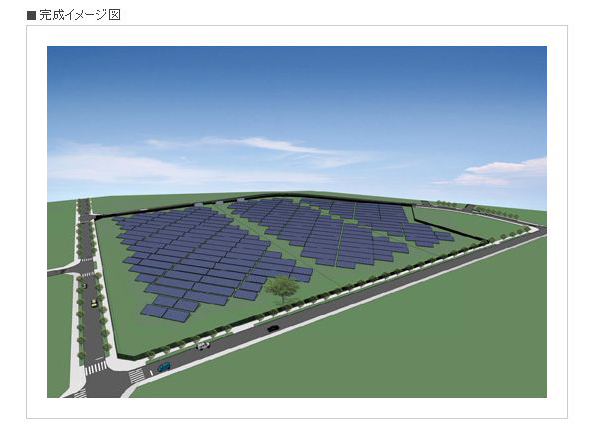 三重県鈴鹿市にNTTファシリティーズが2.2MWの太陽光発電所を建設