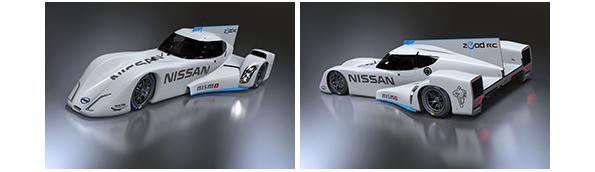 日産、電力駆動レーシングカー「Nissan ZEOD RC」を日本初公開