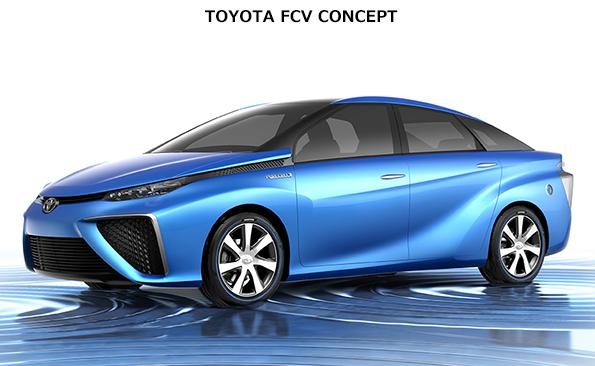 トヨタ、東京モーターショーに燃料電池車を出展 航続距離500km、3分で水素満タン