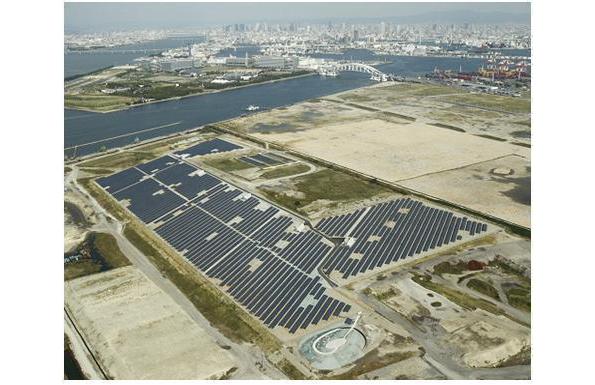 海面埋立処分地にメガソーラー、官民連携「大阪ひかりの森プロジェクト」始動