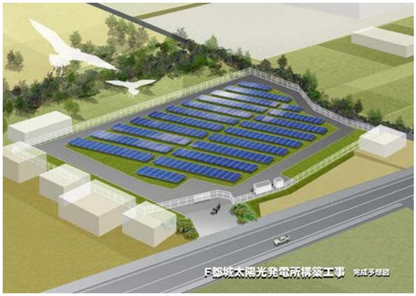 群馬県に14カ所目完成 NTTファシリティーズの太陽光発電所