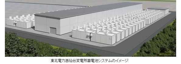 再エネの周波数変動対策に世界最大出力40MWの蓄電システム