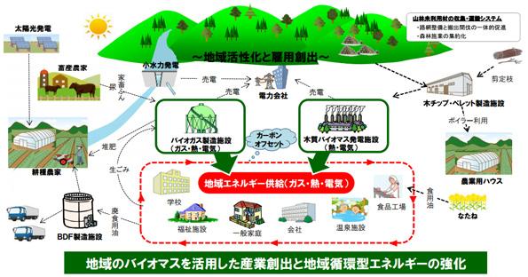 農水省、「バイオマス産業都市」二次募集開始 選定されれば政府から支援