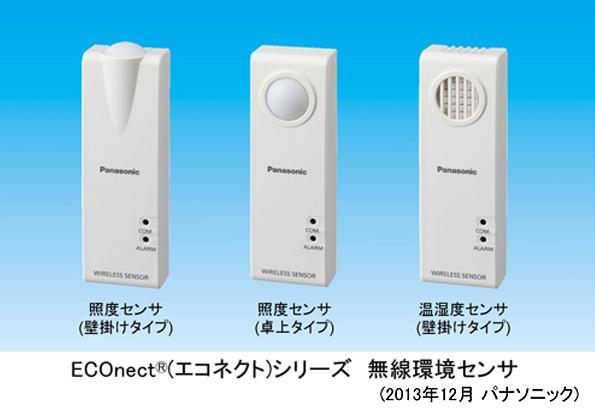 パナソニック、EMSをサポートする無線センサを発表 湿度や明るさを無線通信