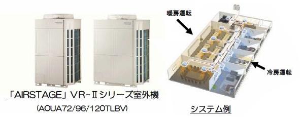 富士通ゼネラルのビル用エアコン、業界トップクラスの省エネ実現