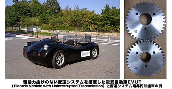 京都大学、電気自動車の新しい変速システムを開発 走行距離を10%延長