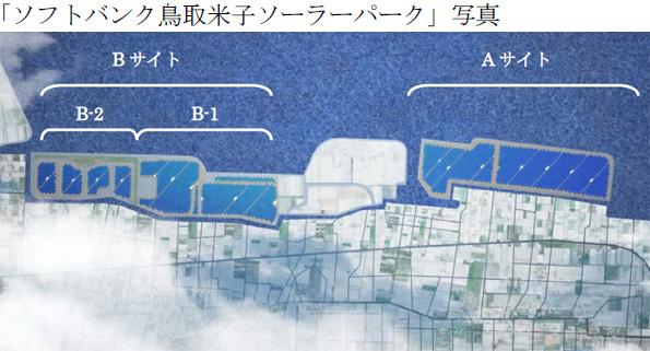 ソフトバンクグループ、鳥取県のメガソーラー(43MW)の運転開始