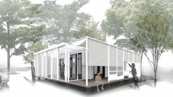 早稲田大のゼロエネルギーハウス 「重ね着」コンセプトで快適な省エネ