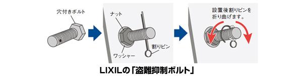 LIXIL、「盗難抑制ボルト」つきの太陽光発電システムを販売開始