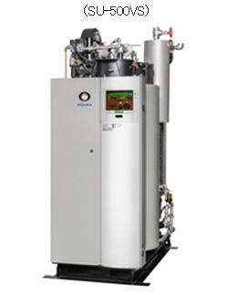 ガス4社、ガス焚き簡易貫流ボイラを新発売 より低負荷な運転でコスト低減