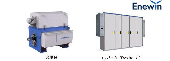 安川電機、風力発電用発電機・コンバータの低圧仕様を販売開始