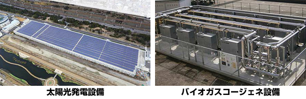 神戸の下水処理場でダブルエコ発電 太陽光発電とバイオガスのコジェネレーション