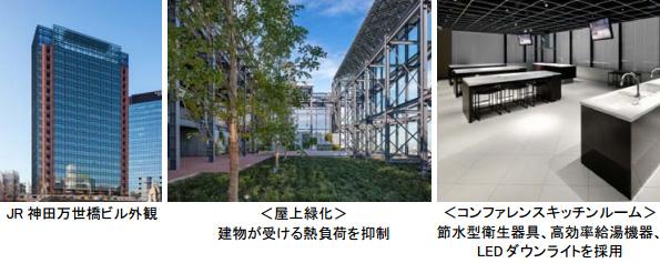 東京都・「JR神田万世橋ビル」が米環境指標LEED認証を2件取得