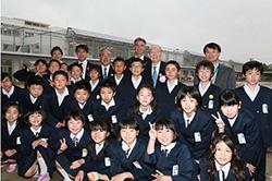 日本コカ・コーラ、福島県の小学校に太陽光発電設置 被災地で29校目
