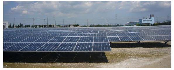茨城県の工場跡地に3.5MWのメガソーラー 東芝製パネルを採用