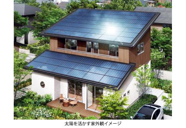 新築住宅への太陽光発電設置、屋根貸しプランで拡大狙う