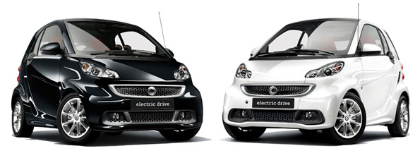 特別仕様車「smart fortwo electric drive edition black & white」