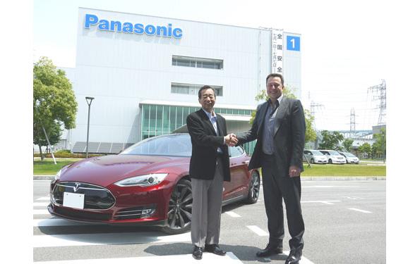パナソニック×米テスラが協業 低価格EVの市場投入に向け電池工場建設へ