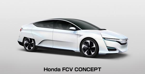 ホンダ、燃料電池車の新型コンセプトモデルを公開 航続距離は700km