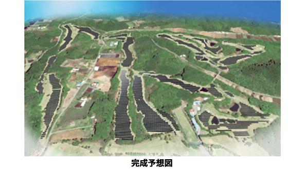 栃木県のゴルフ場跡もメガソーラーに 小型分散型パワコン採用でリスク軽減