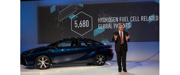トヨタ、燃料電池・水素タンク関連の特許実施権を無償提供 水素社会貢献のため