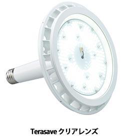 屋外照明や高天井などの大型水銀灯を代替、高輝度LED照明に新製品