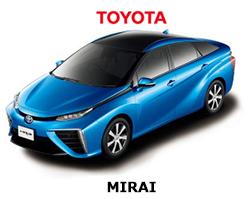 関空、新たにトヨタ「MIRAI」を導入 水素エネルギー化進む