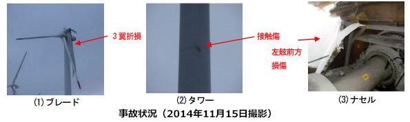 ユーラスエナジー、釜石の風車ブレード破損事故の最終報告書を提出