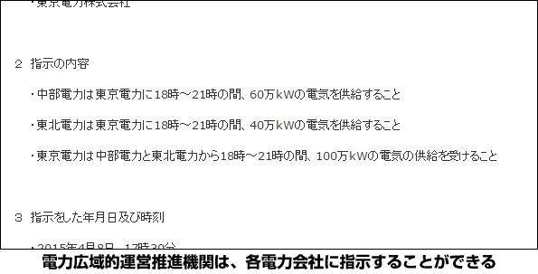 東京電力、急に寒くなって電力足りず・・・ 電力自由化の新組織が初の融通指示