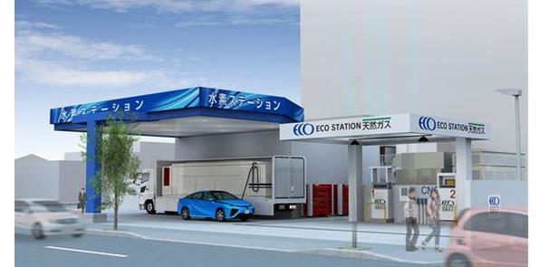 京都市内に初の水素ステーション 経産省の「水素供給設備設置補助金」を活用