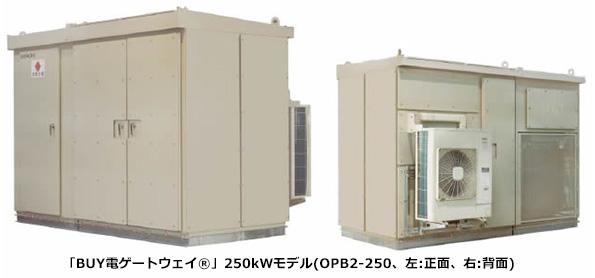 日立産機システム、変圧器一体型パワコンを大型化 250kWと500kWの2種類