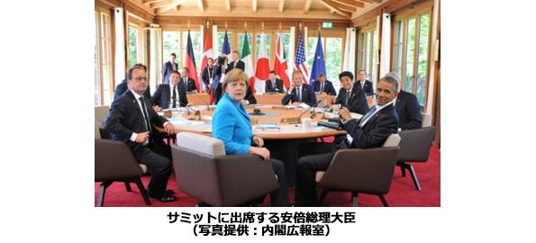 G7サミット終了 「2050年までに温室効果ガス40~70%削減」めざす