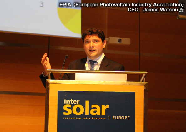 取材速報(3):「Intersolar Europe」緊急現地レポート 太陽光発電市場動向