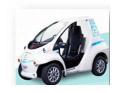 トヨタの電気自動車、コムスのカーシェアリング サークルKサンクスで利用可能に