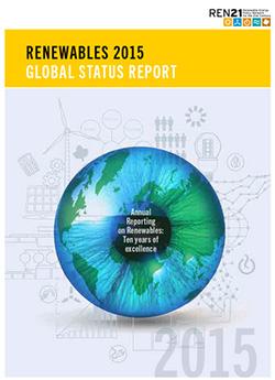 CO2排出を増やさずに世界経済が成長 REN21の年次報告書、日本語版公開