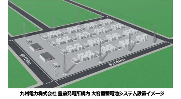 九州電力の系統に「大容量蓄電システム」 日本ガイシのNAS電池が30万kWh
