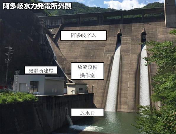 岐阜県にもダムの維持流量を利用した小水力発電所