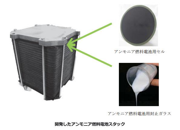 「NH3」←水素たくさん入ってる! 期待されるアンモニア燃料電池