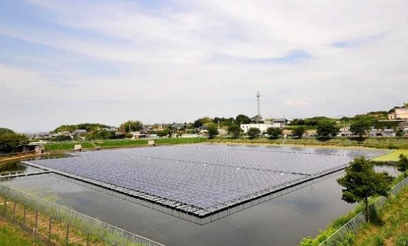 大阪府にも水上メガソーラー 事業費5億円、年間売上3776万円
