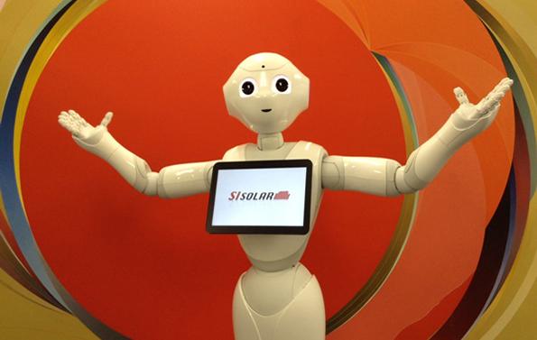 ソフトバンクのロボット「Pepper」が太陽光発電を説明 住宅展示場に貸出しへ