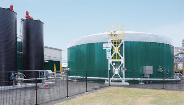 大阪府初、FIT適用のバイオガス発電が稼働 17トンの食品廃棄物で250kW