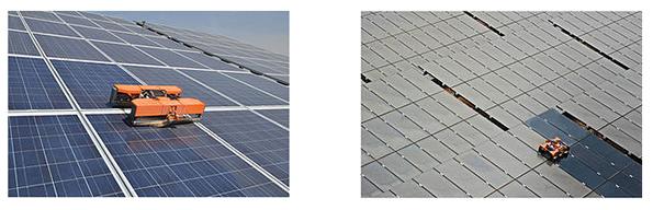 ソーラーパネルの自動清掃ロボに期待高まる 中東など乾燥地域での需要想定