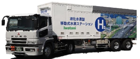 福岡県庁で移動式水素ステーションの整備開始 設置・運営は岩谷産業