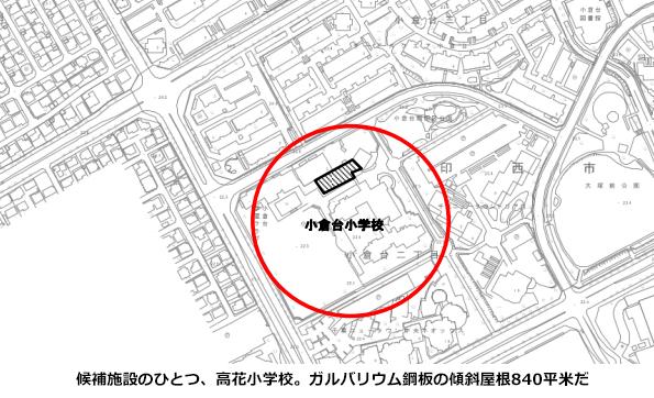 千葉県印西市、市有施設で屋根貸し太陽光発電事業 1平米あたり50円以上
