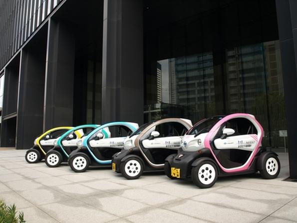 東京都・豊洲の超小型モビリティ運用調査 都市部でのデータ集め進む
