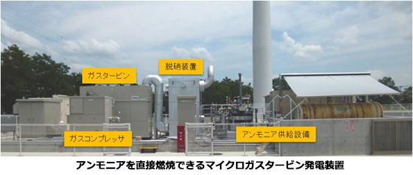 アンモニアでの火力発電に成功! 天然ガスよりCO2排出を大幅削減可能か